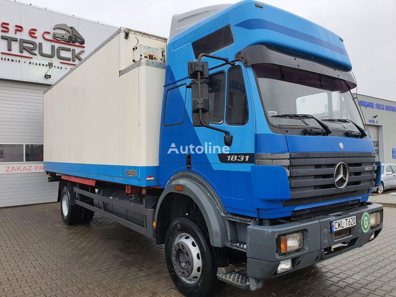 MERCEDES-BENZ SK 1831 refrigerated truck