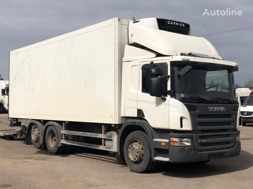 SCANIA P 380 refrigerated truck