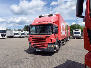 SCANIA P410 refrigerated truck + trailer