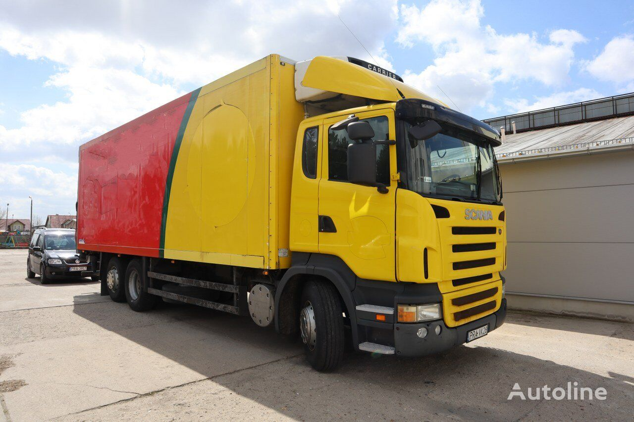 SCANIA R420 6x2 refrigerated truck