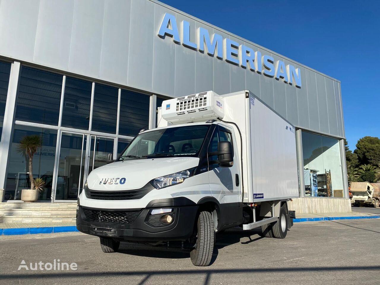 IVECO 70C18. FRIGORIFICO. COLOR BLANCO refrigerated truck