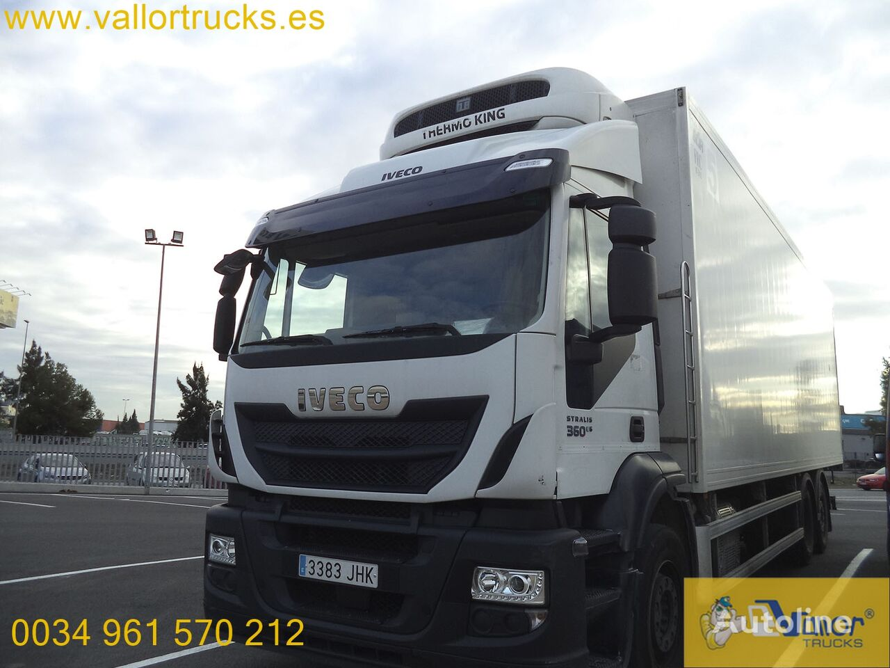 IVECO AD260S36Y/PS refrigerated truck