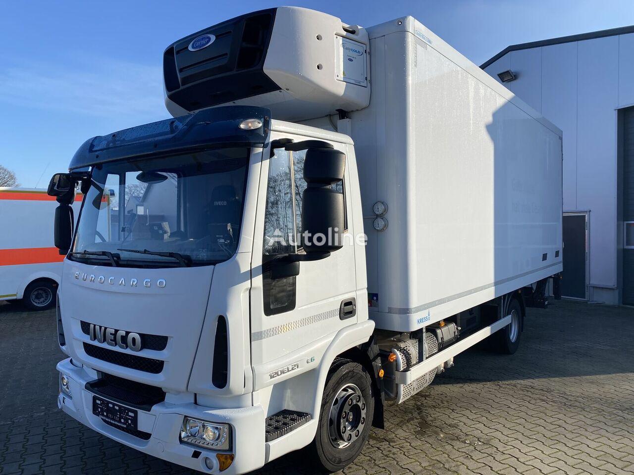 IVECO Eurocargo 120EL21 Vollausstattung Kress Carrier Tiefk. Dop refrigerated truck
