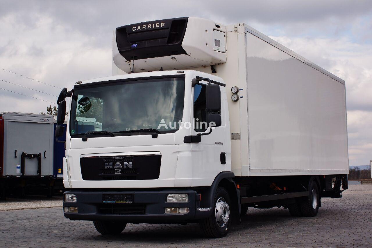 MAN TGL 12.210 CARRIER SUPRA MANUAL PERFECT GERMAN TRUCK LBW PALFING refrigerated truck