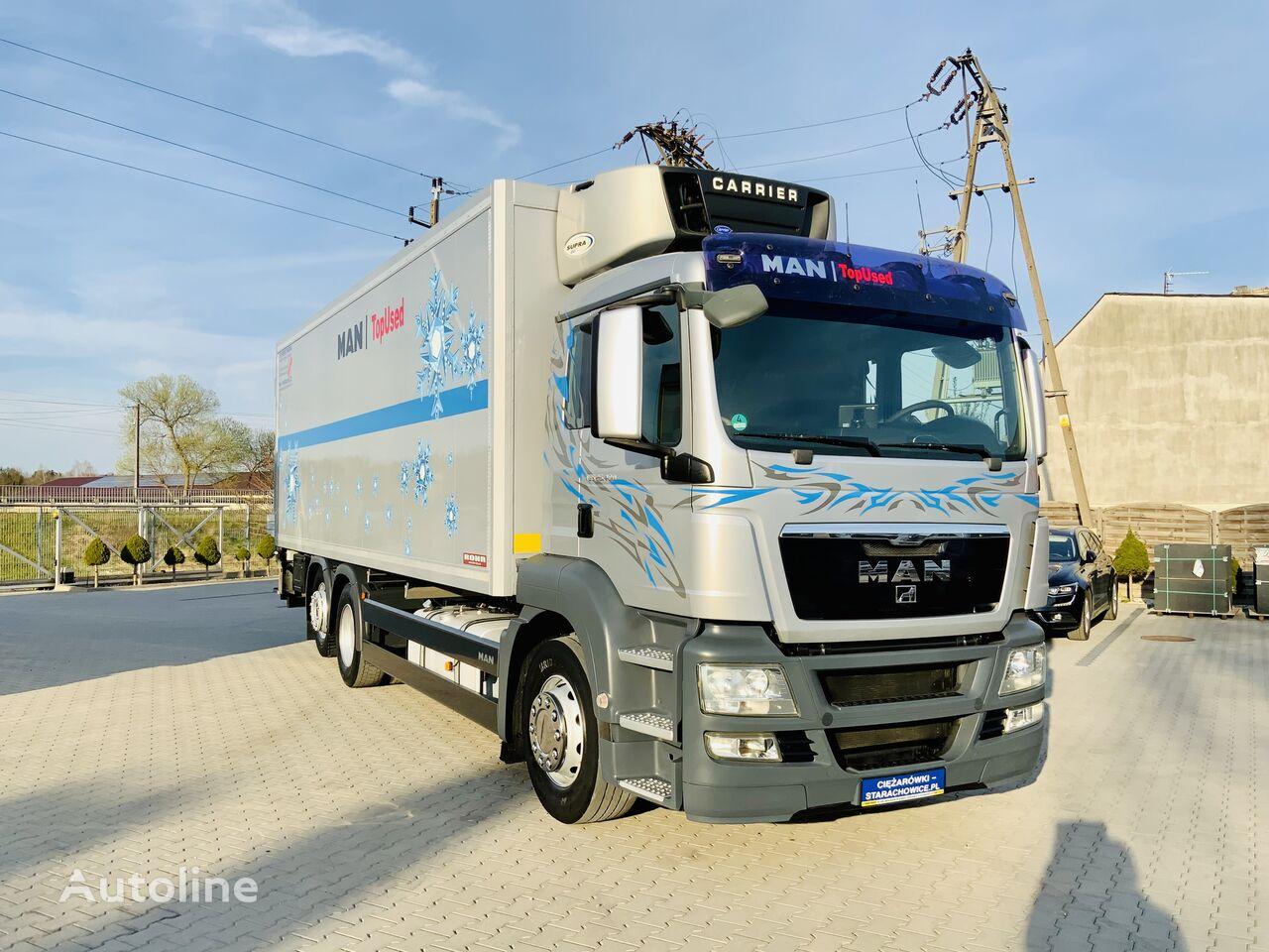 MAN TGS TGX 26.400 E5 6x2 oś skrętna , sypialka , Super Stan  refrigerated truck
