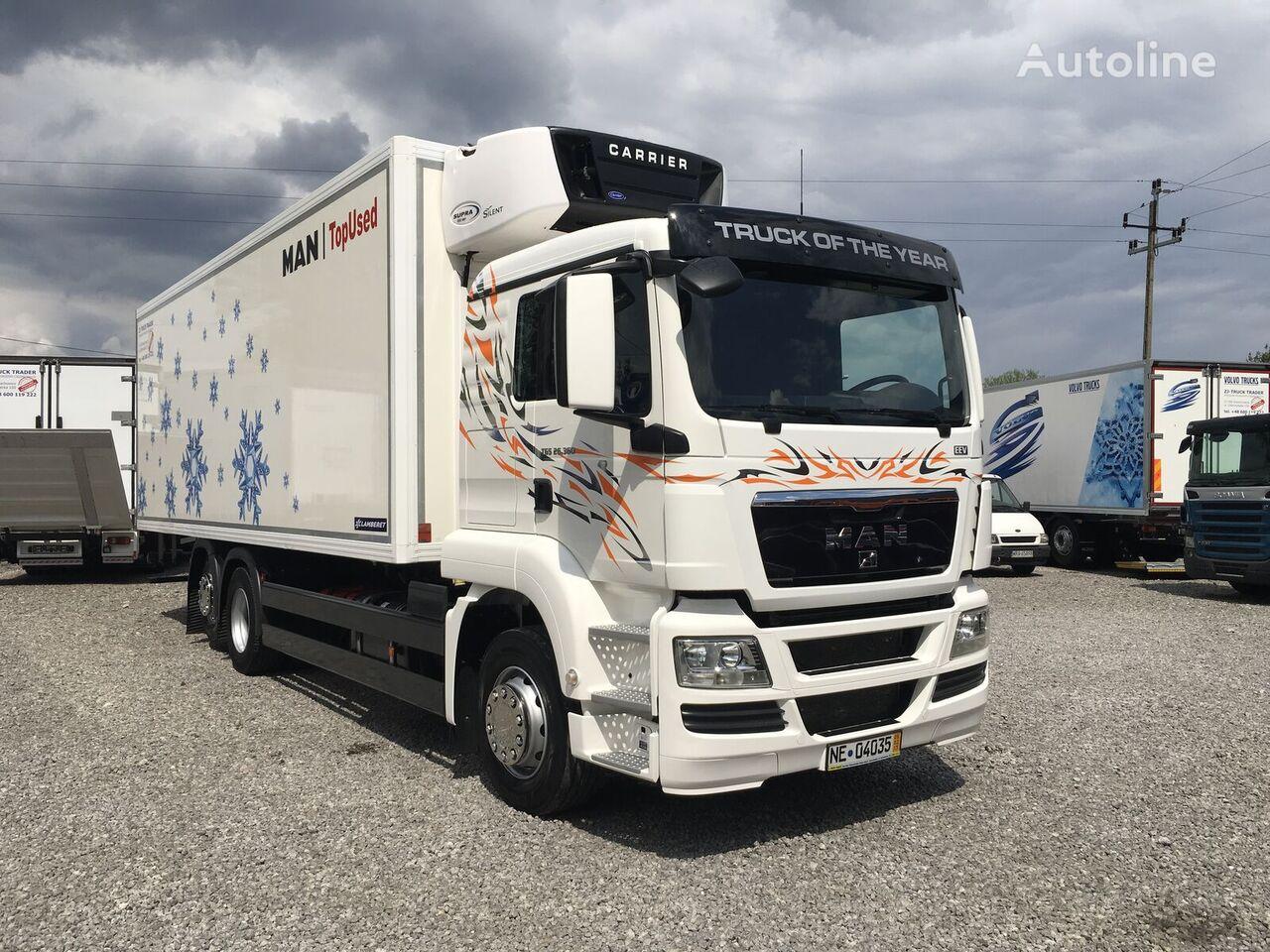 MAN TGX TGS 26.360 6x2 Multitemperatura , Super Stan ! refrigerated truck