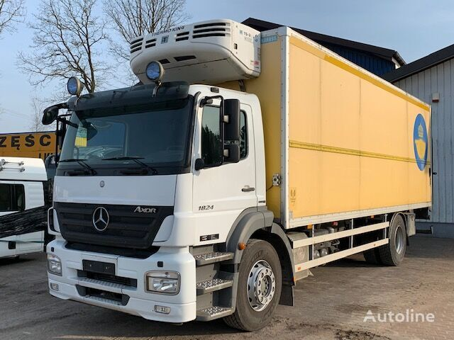 MERCEDES-BENZ AXOR 1824 refrigerated truck