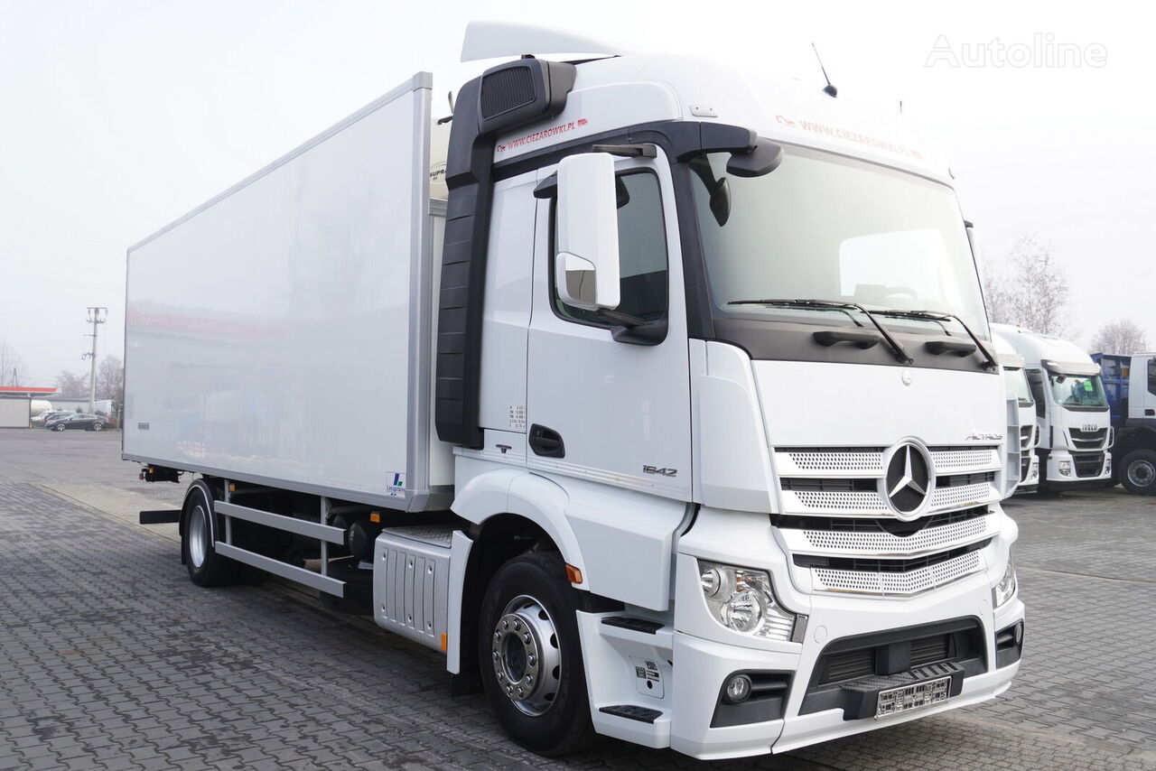 MERCEDES-BENZ Actros 1842 , E6 , 4x2 , 19 EPAL , 170,000km , 2015 , Carrier 85 refrigerated truck