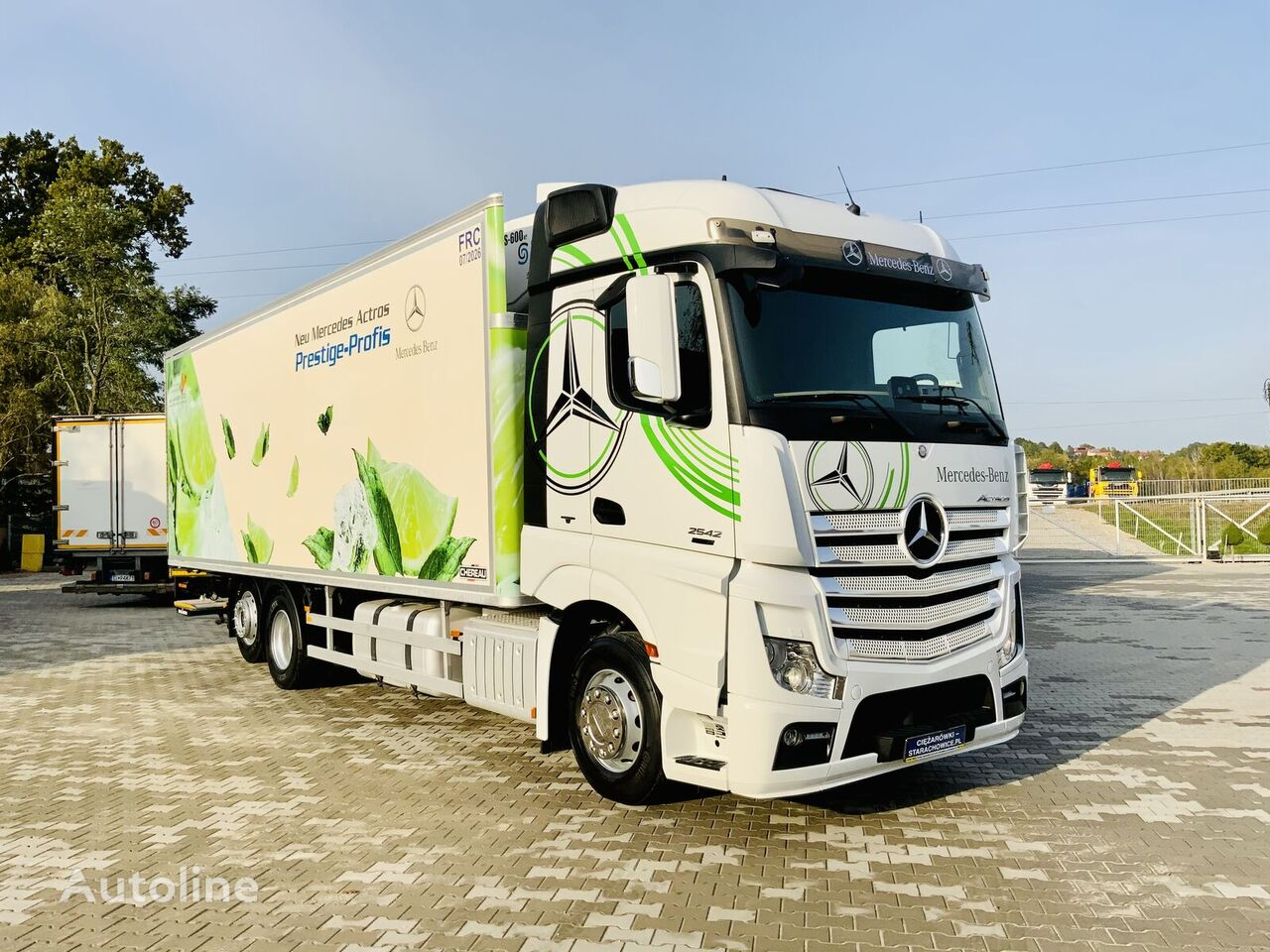 MERCEDES-BENZ Actros 2542 Chłodnia 21EP Stan Perfekcyjny refrigerated truck