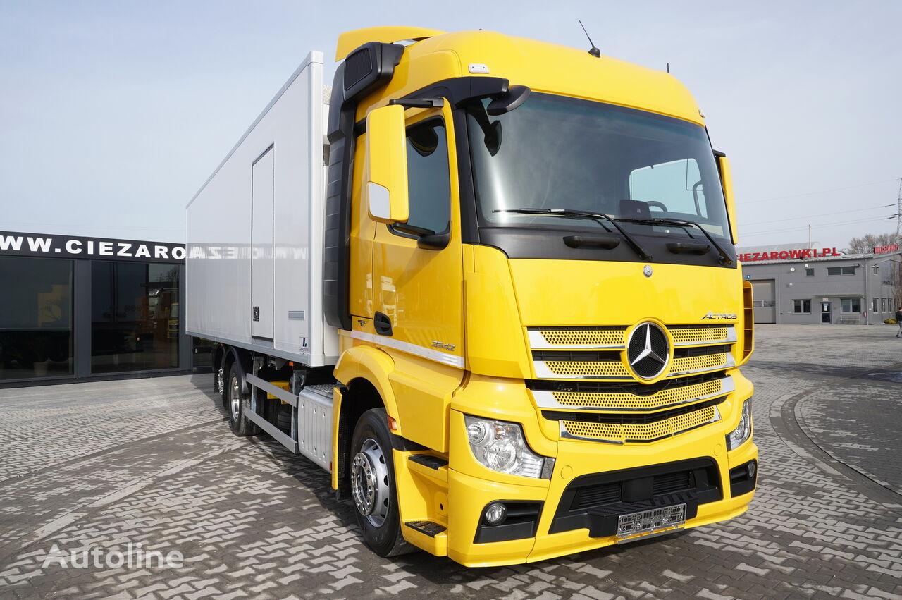 MERCEDES-BENZ Actros 2542 , E6 , 6x2 , 22 EPAL , Side door , lift axle , Carri refrigerated truck