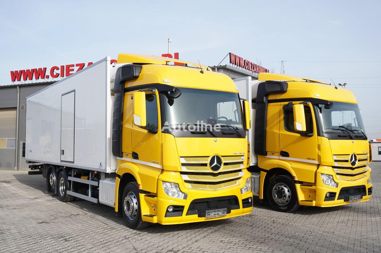 MERCEDES-BENZ Actros 2542 , E6 , 6x2 , 22 EPAL, Side door , lift axle , Carri refrigerated truck