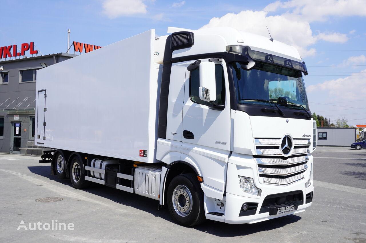 MERCEDES-BENZ Actros 2545 , E6 , 6X2 , 18 EPAL , heigh 2,6m , side door , reta refrigerated truck