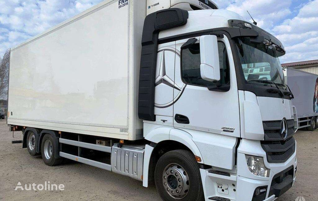 MERCEDES-BENZ Actros 2551L Thermoking T-1000R refrigerated truck