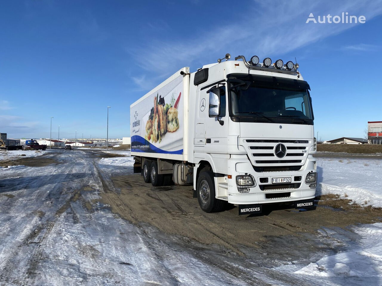 MERCEDES-BENZ Actros 2660 refrigerated truck