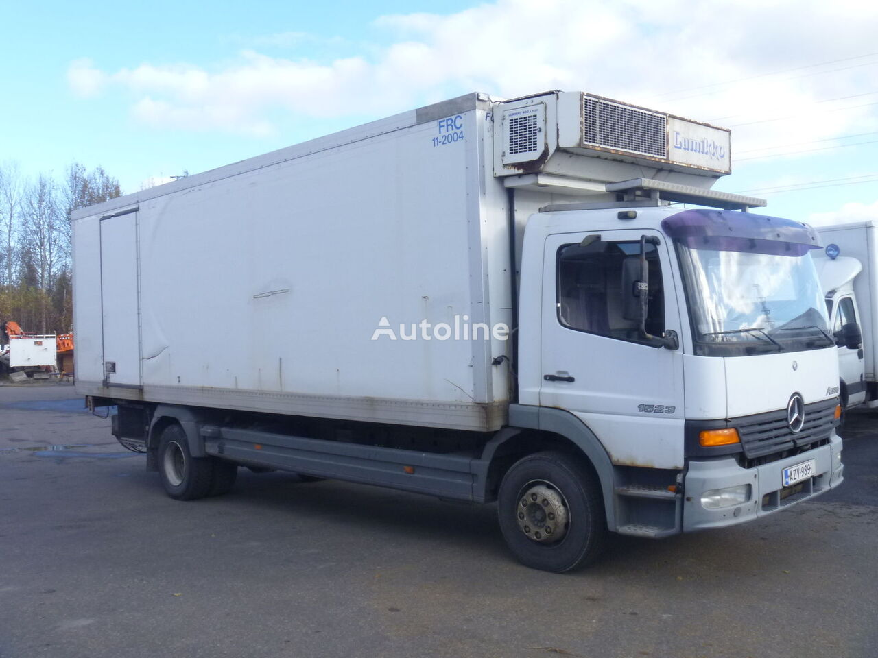 MERCEDES-BENZ Atego 1523L refrigerated truck