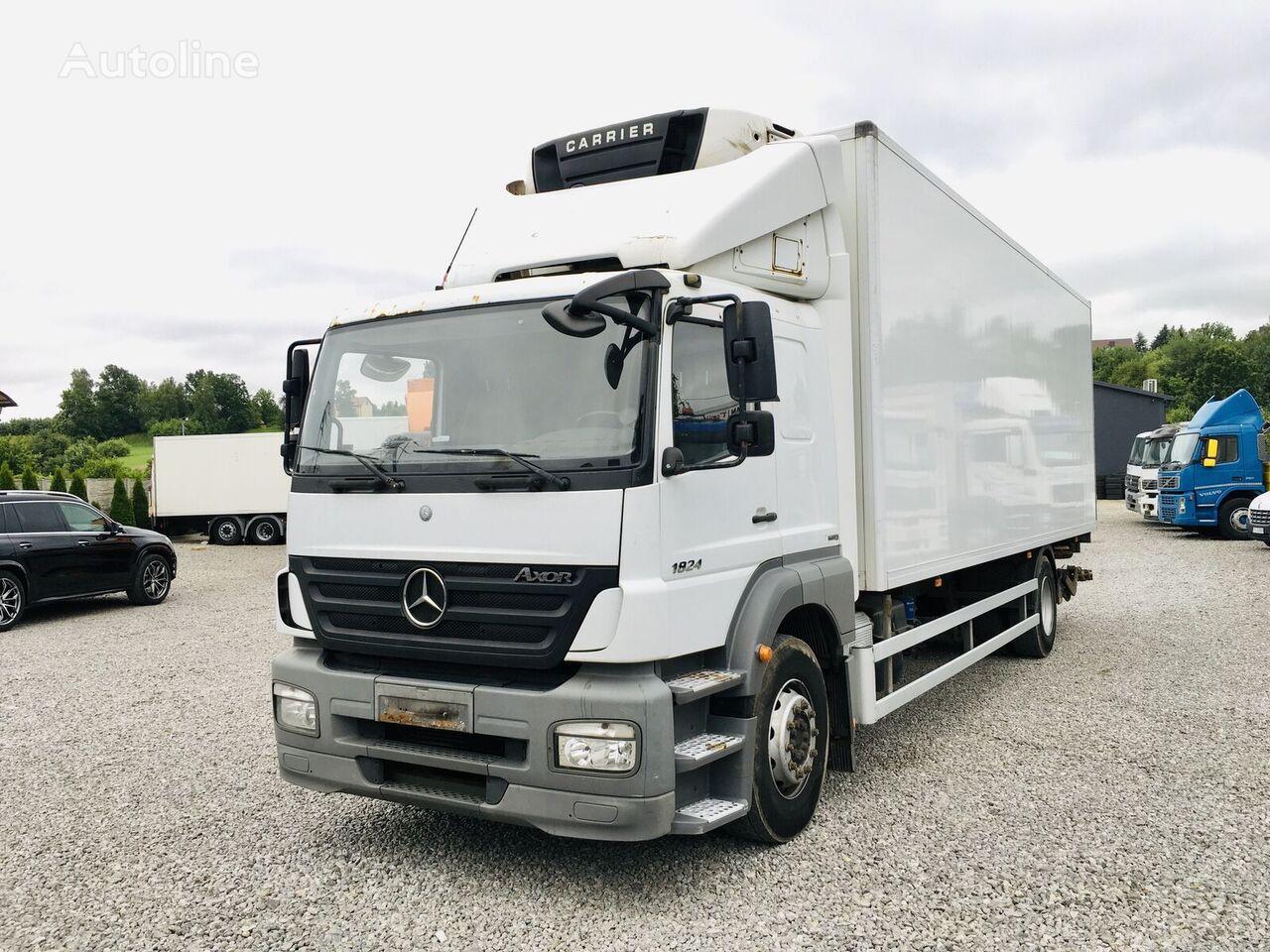 MERCEDES-BENZ Axor 1824 Euro 5 , sypialna kabina refrigerated truck