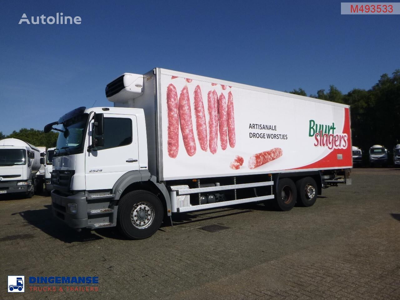 MERCEDES-BENZ Axor 2529 6x2 Euro 5 Carrier Xarios 600 frigo refrigerated truck