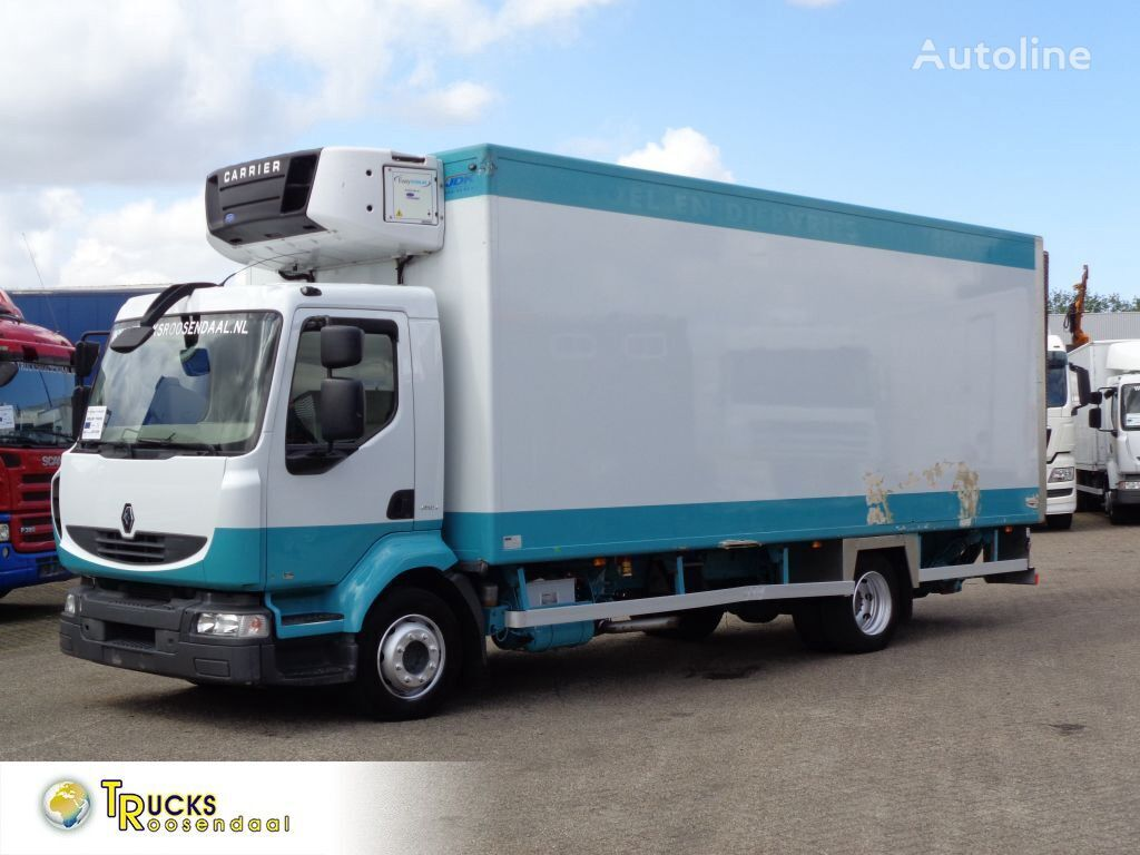 RENAULT Midlum 190 DXI + Manual + Carrier Supra 750 Mt + LIFT refrigerated truck