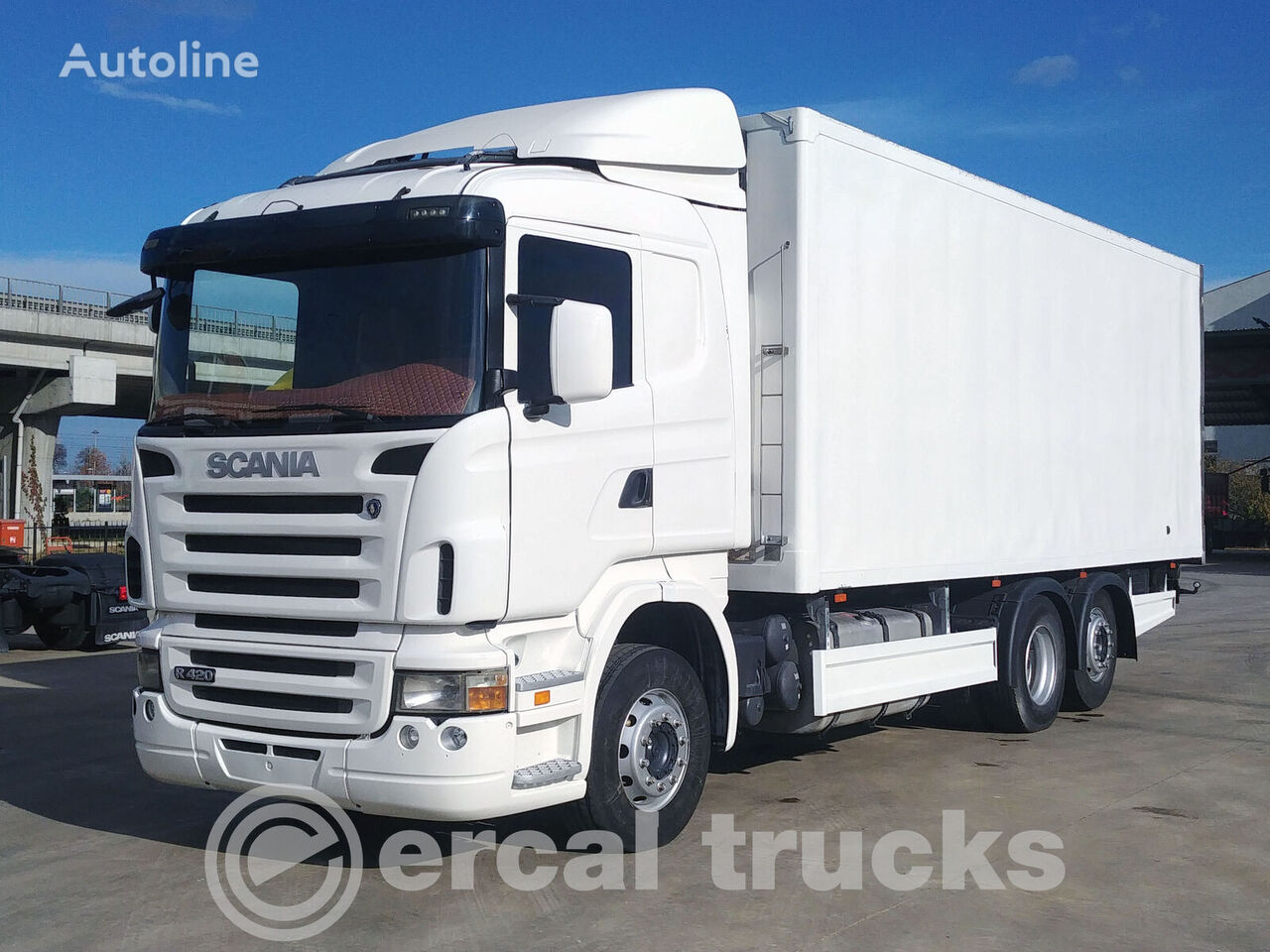 SCANIA 2007 R420 6X2 RETARDER NEW ENGINE - REFRIGERATED WITH CARRIER UN refrigerated truck