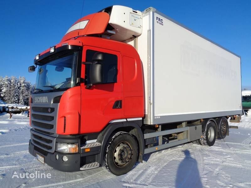 SCANIA G 480 refrigerated truck