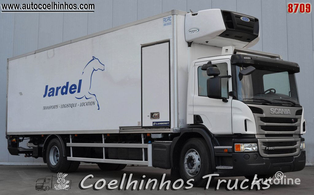 SCANIA P 250 refrigerated truck
