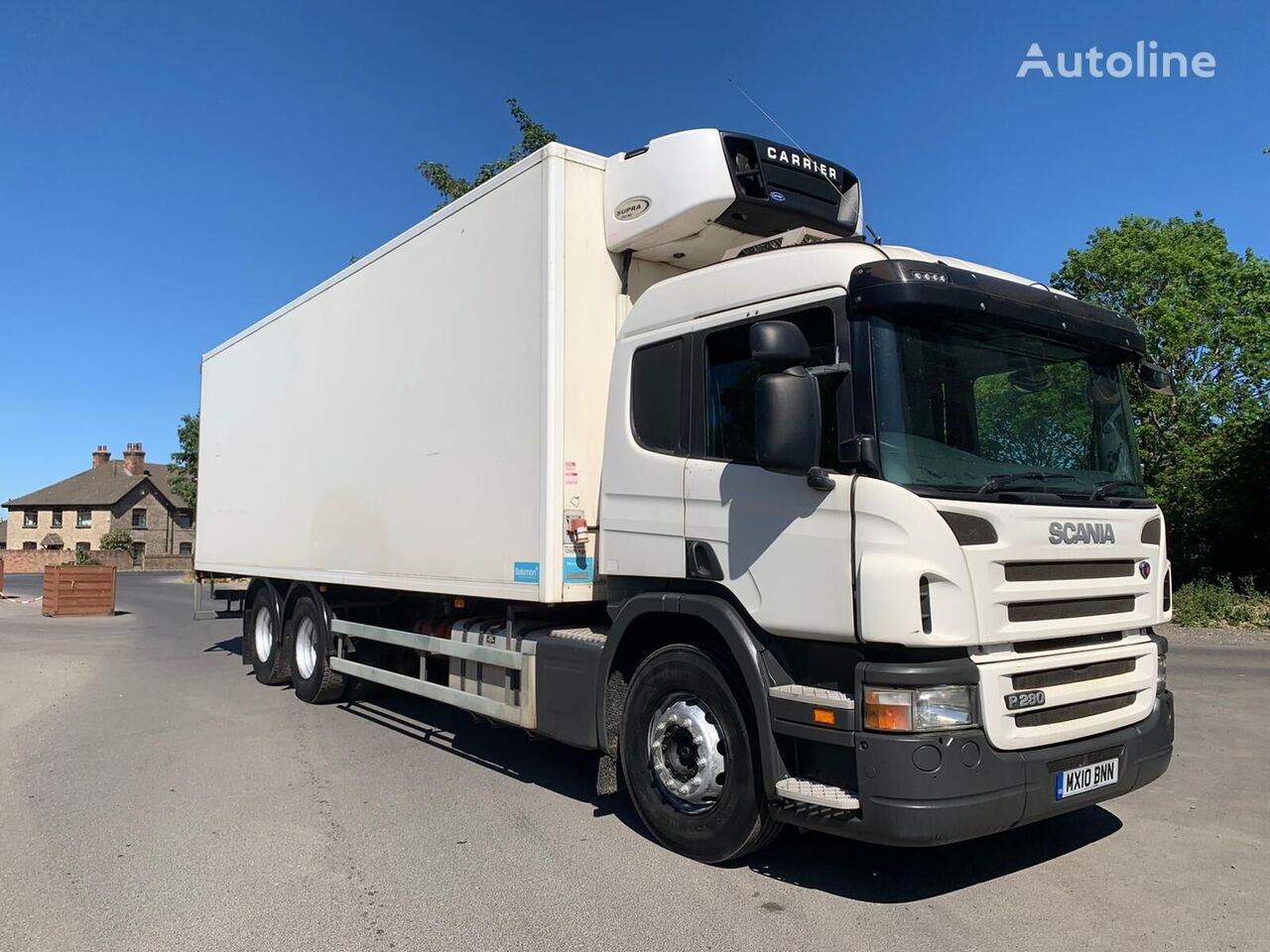 SCANIA P280 refrigerated truck
