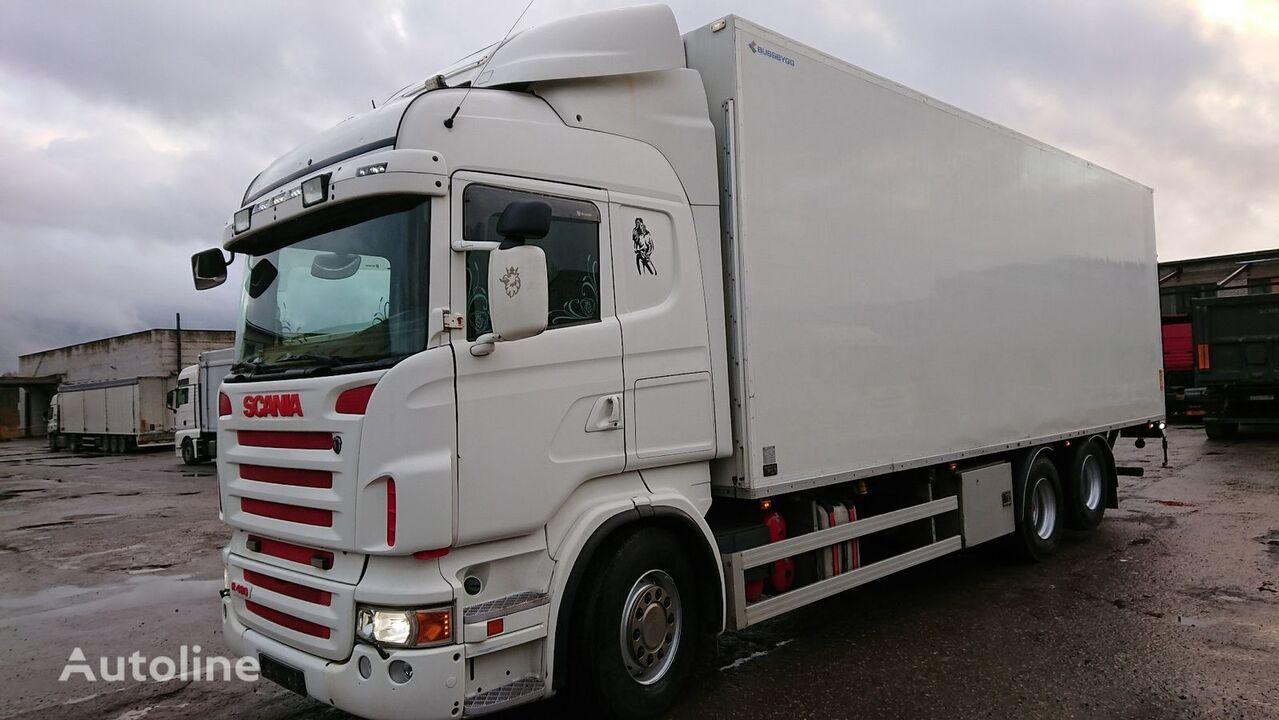 SCANIA R480 refrigerated truck