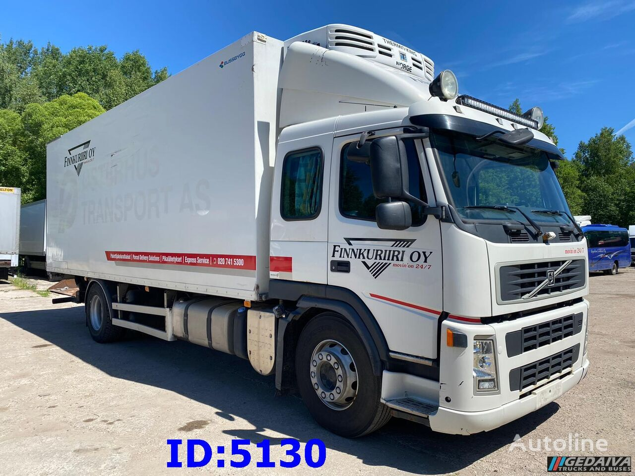 VOLVO FH 380 4x2 Thermoking refrigerated truck