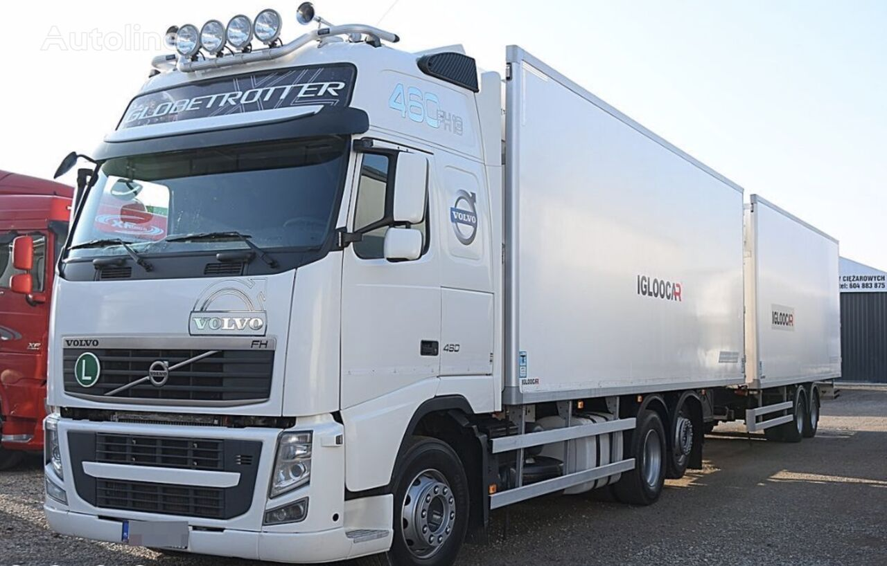 VOLVO FH460 refrigerated truck + refrigerated trailer