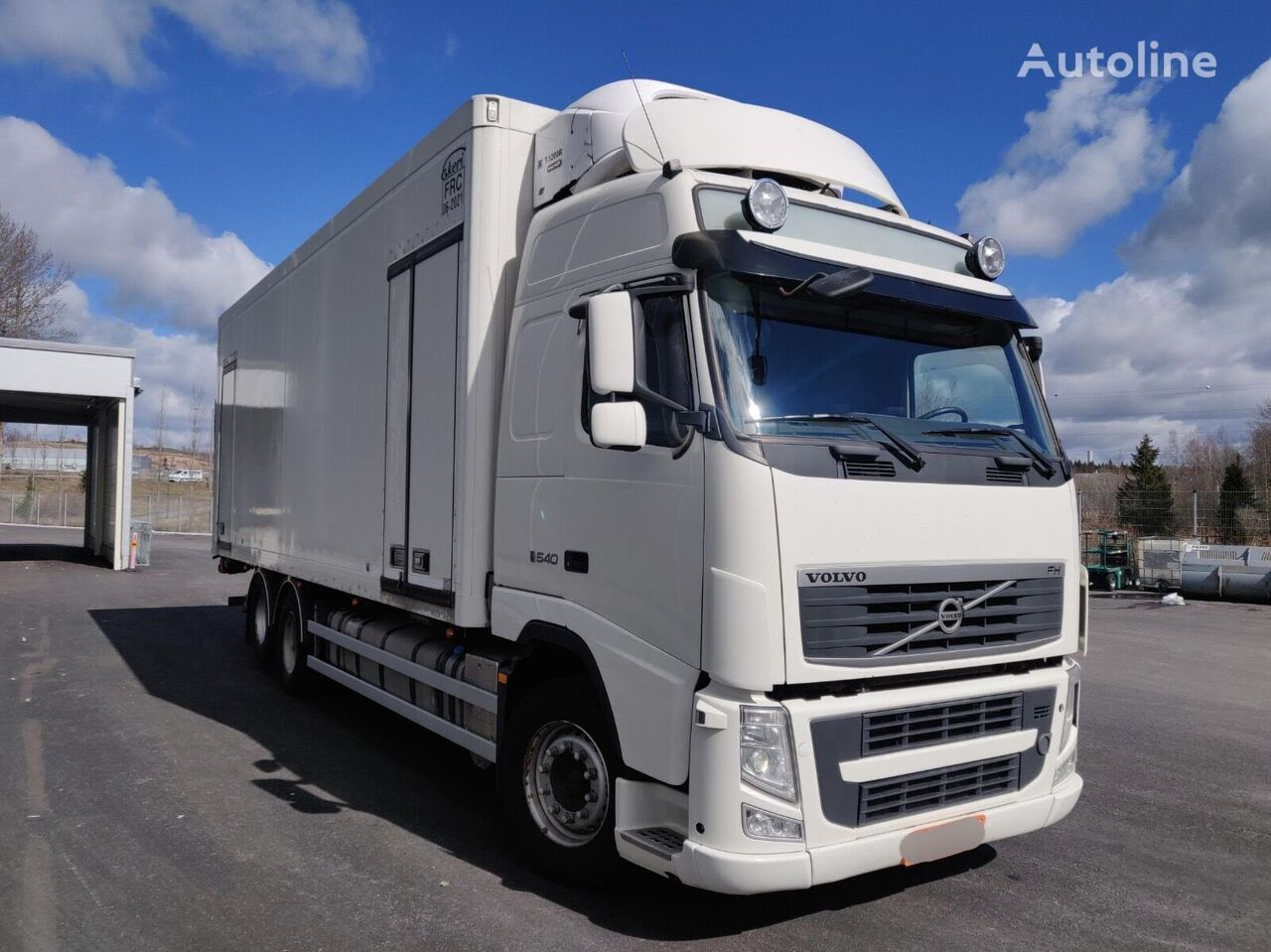 VOLVO FH540 Thermoking T-1200R refrigerated truck