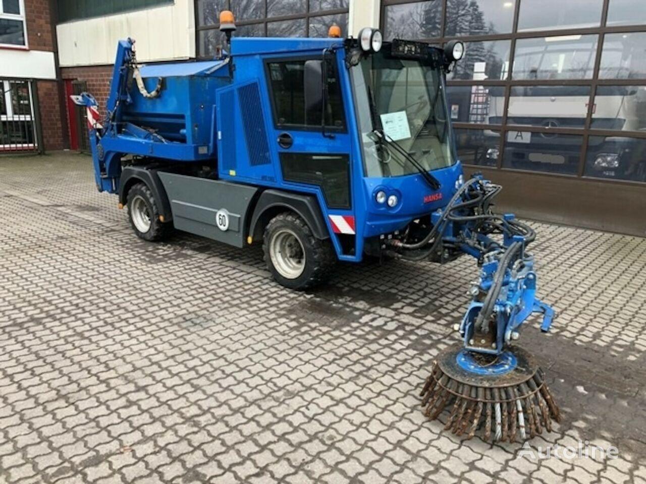 Hansa MAK  APZ 1003 Absetzkipper/Salzstreuer/Wildkrautbesen skip loader truck