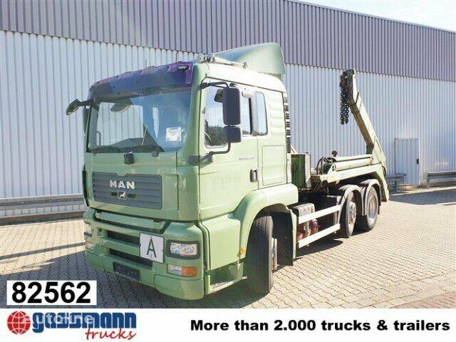 MAN TGA 26.460 6x2-4 BL Autom skip loader truck