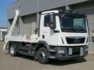 MAN TGM 15.290  skip loader truck