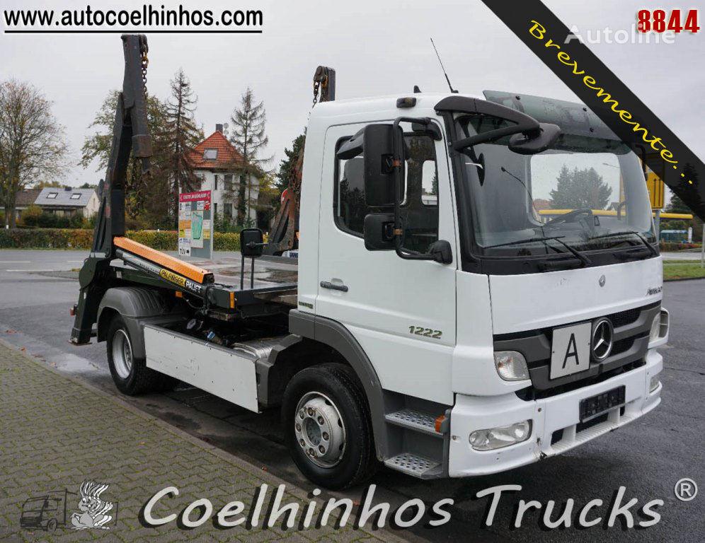 MERCEDES-BENZ 1222 Atego skip loader truck