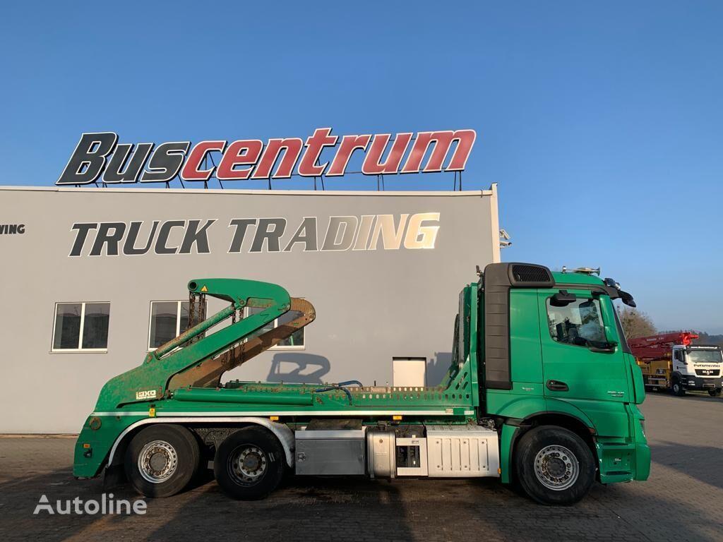 MERCEDES-BENZ Actros 2542 6x2 LAXO 18T skip loader truck