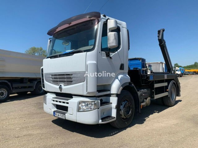 RENAULT Premium 450.18 t   skip loader truck