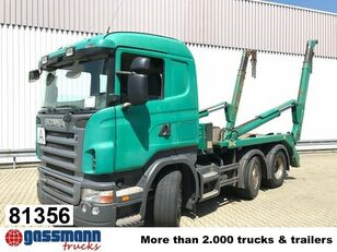 SCANIA R420 skip loader truck