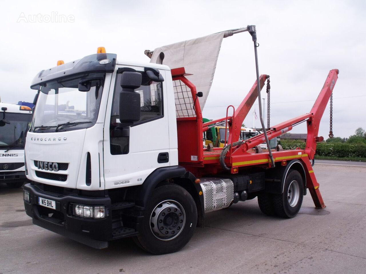 IVECO Eurocargo 180E25 skip loader truck