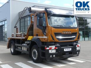 IVECO Stralis X-Way AD190X40/P ON+ skip loader truck