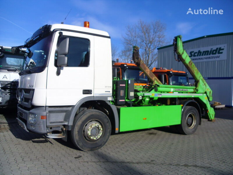 MERCEDES-BENZ Actros 1844 K 4x2 skip loader truck