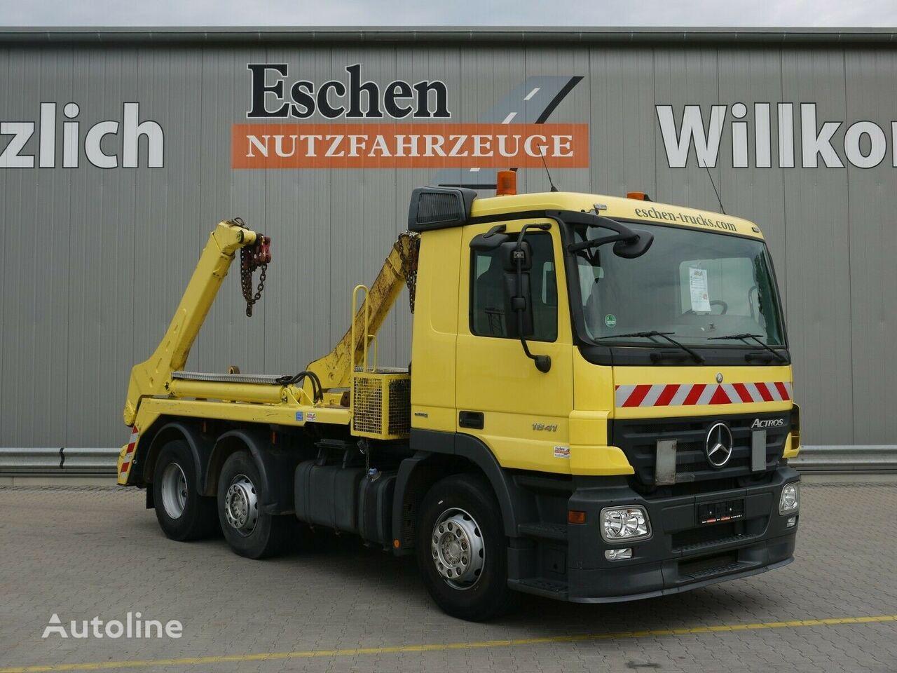MERCEDES-BENZ Actross 1841 6x2 skip loader truck