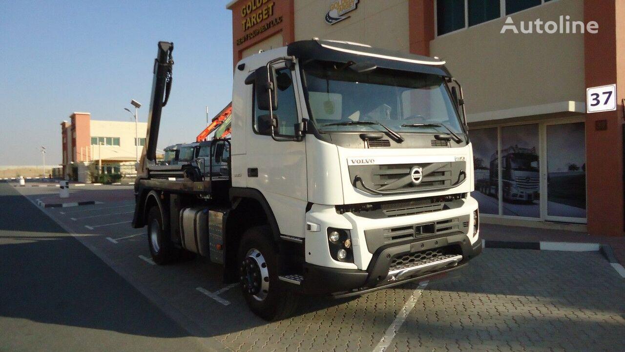 VOLVO  FM 330 4x2 skip loader truck