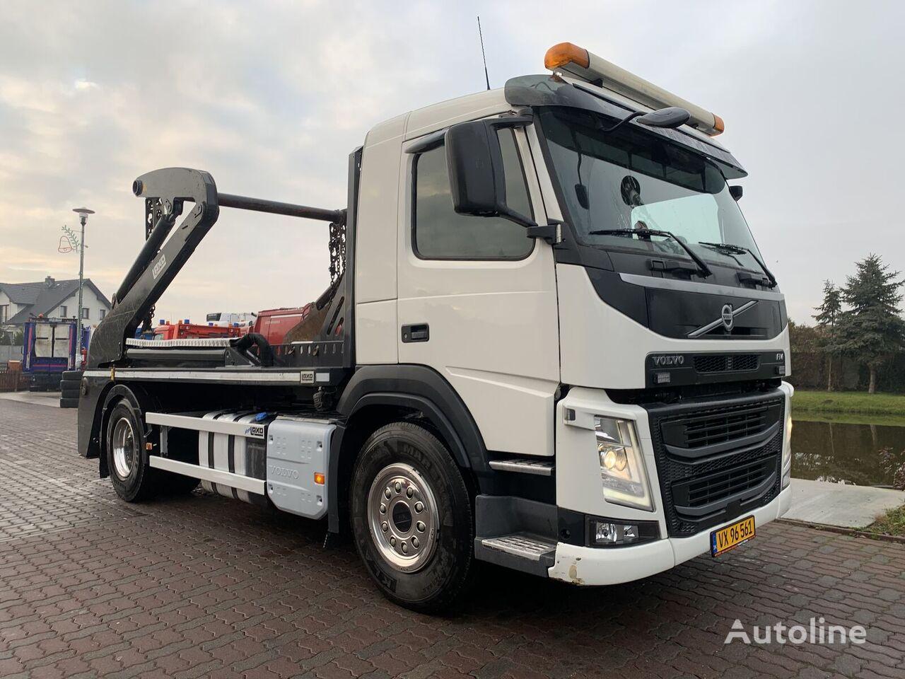VOLVO FM 380 Bramowiec Euro6 skip loader truck