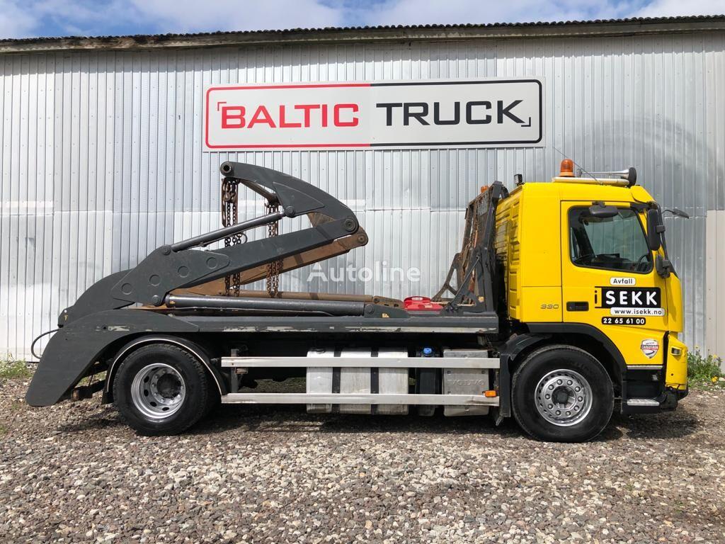 VOLVO FMX330 skip loader truck