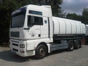 MAN TANK TGA 26.480 16.500L Fuel Manual Pomp Meter tanker truck