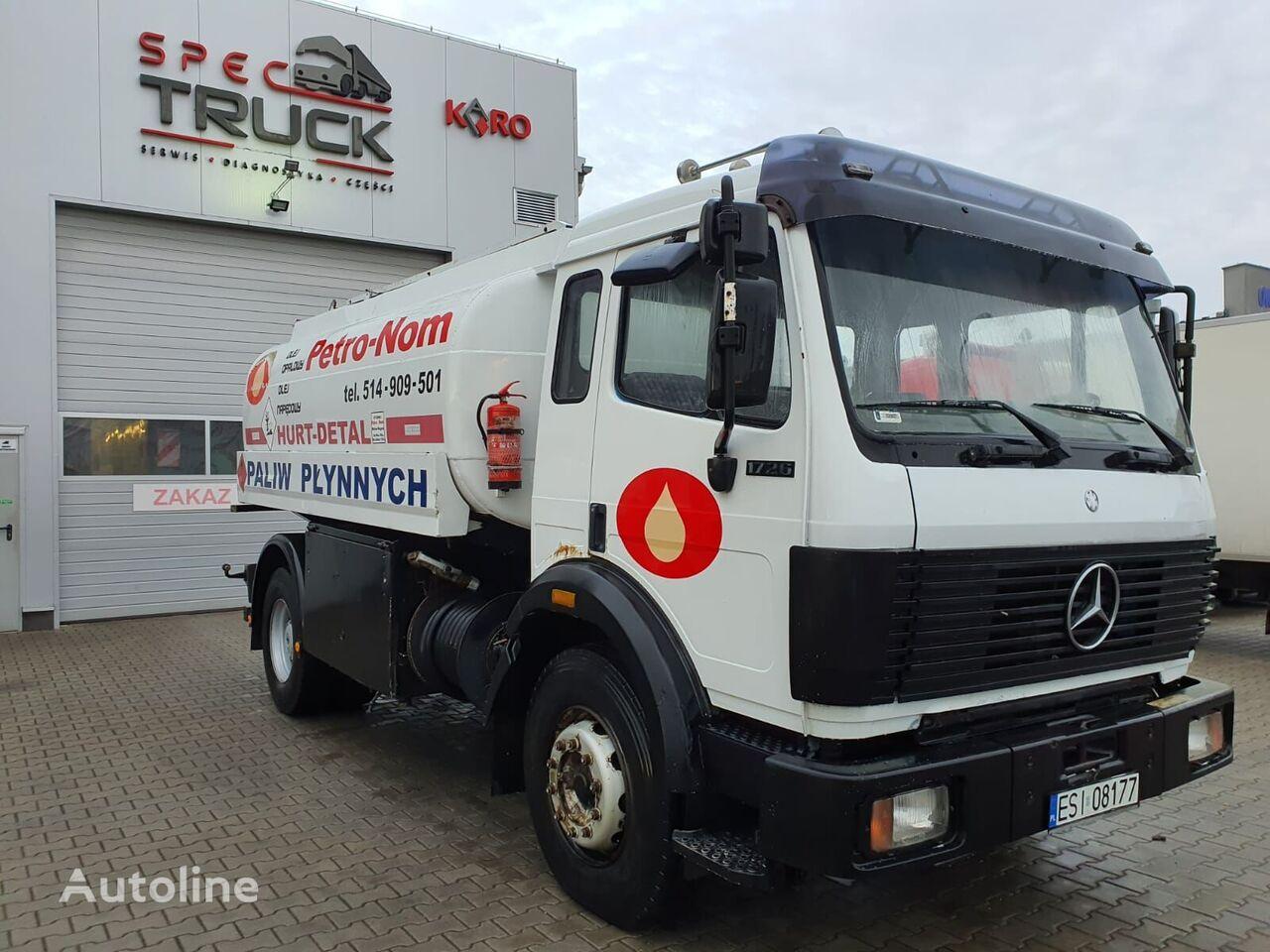 MERCEDES-BENZ 1726 tanker truck