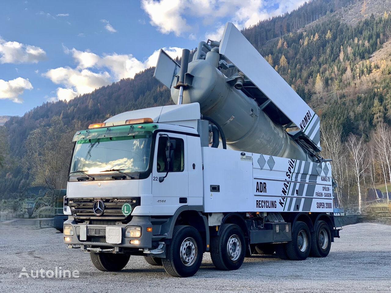 MERCEDES-BENZ ACTROS 4144 SUPER 2000 / ADR  tanker truck