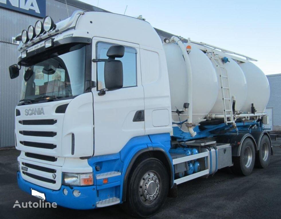 SCANIA R560 tanker truck