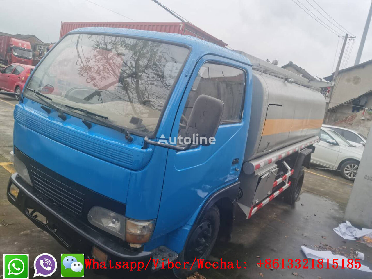 DONGFENG Used Tanker Truck  tanker truck