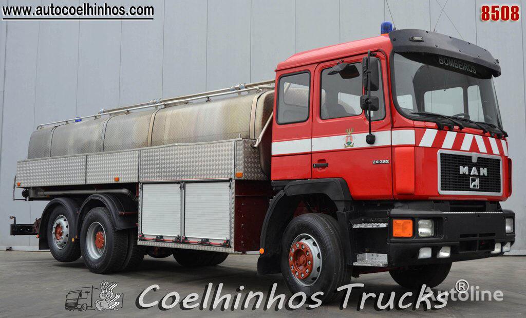 MAN 24.362 tanker truck